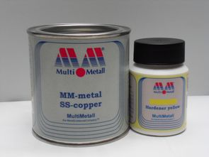 MM-metal SS-copper with Hardener yellow
